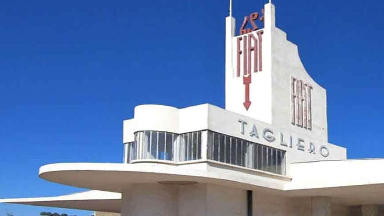 Fiat Tagliero Building - things to see and do in Eritrea