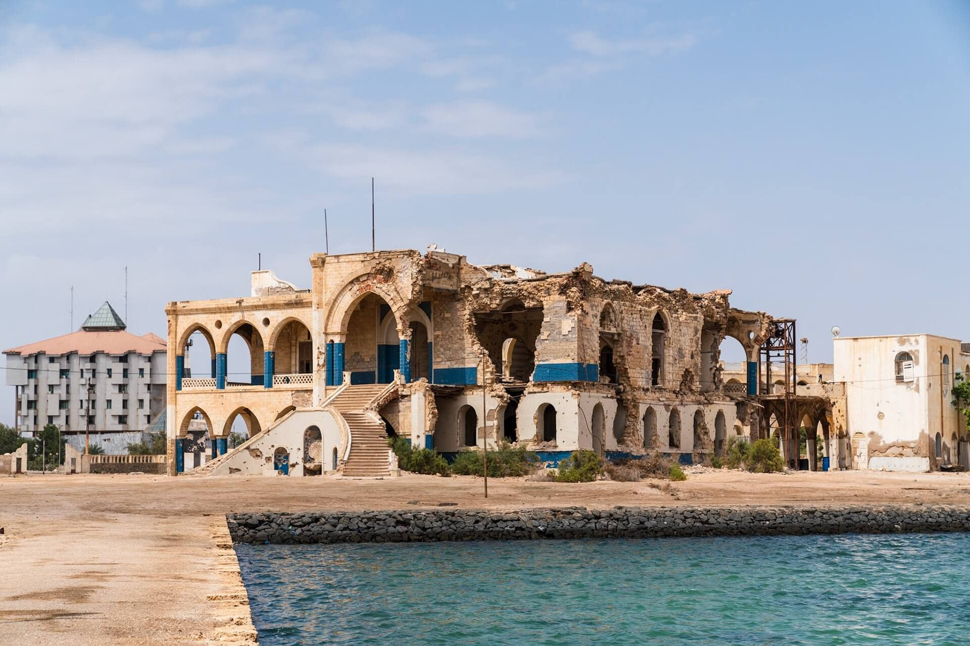 Massawa Haile Selassie old palace -3 Days Tour Asmara - things to see and do in Eritrea