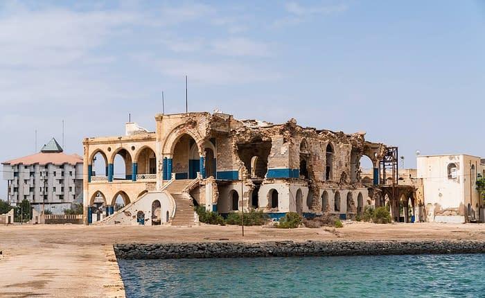 Massawa Haile Selassie alter Palast -3 Tage Tour Asmara - Sehenswertes in Eritrea