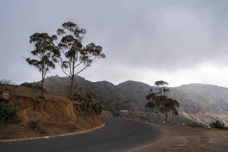 Massawa Road from Asmara