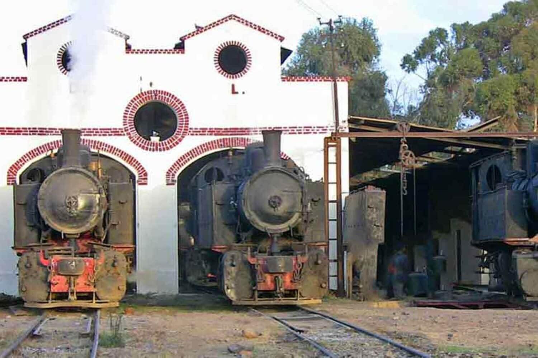 11The railway station of Asmara Eritrea