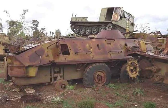 Tank Graveyard In Asmara