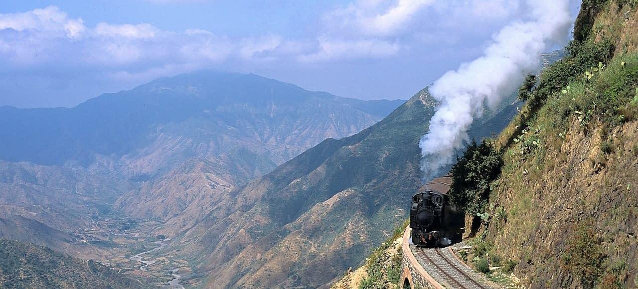 Eritrea Steam locomotive trains - discover Eritrea