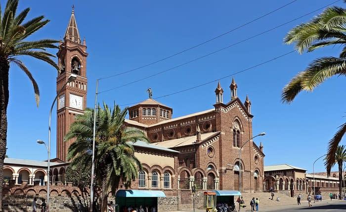 Asmara Roman Catholic church. Tour Asmara - Things to do in Asmara, Massawa & Keren