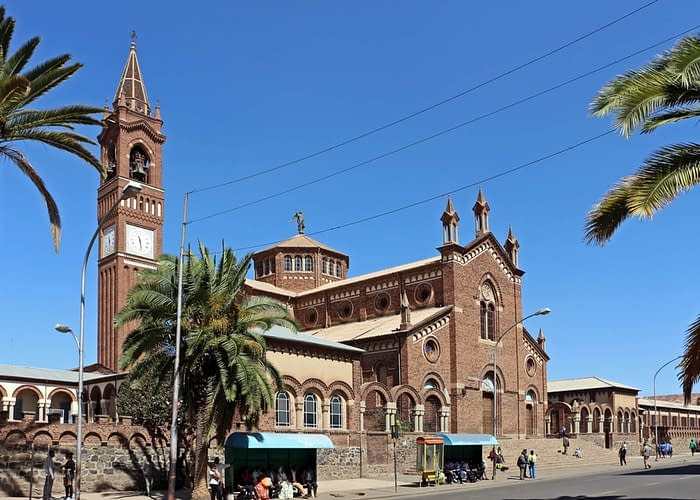 Asmara Roman Catholic church. Tour Asmara - Things to do in Asmara, Massawa & Keren