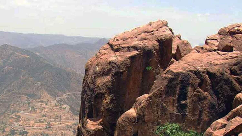 One of the Beautiful mountain in Eritrea edited