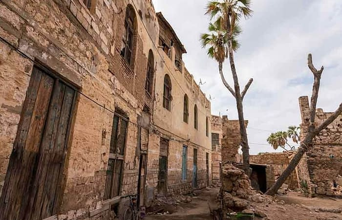 One of the old buildings Massawa