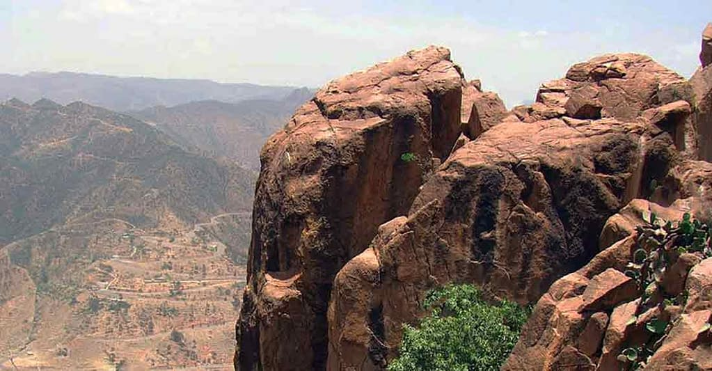 Debre Sina Monastery - Qohaito Archeological Site