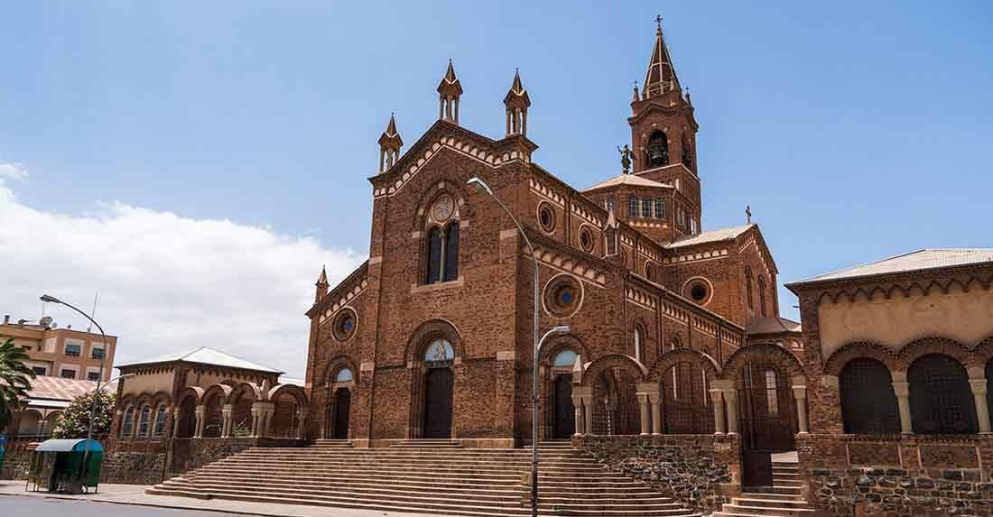 Asmara caver catedrale
