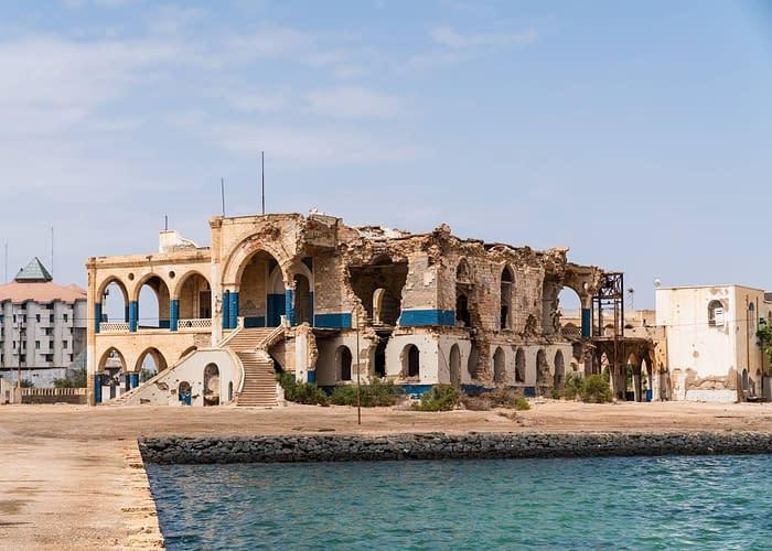Massawa Haile Selassie old palace -3 Days Tour Asmara