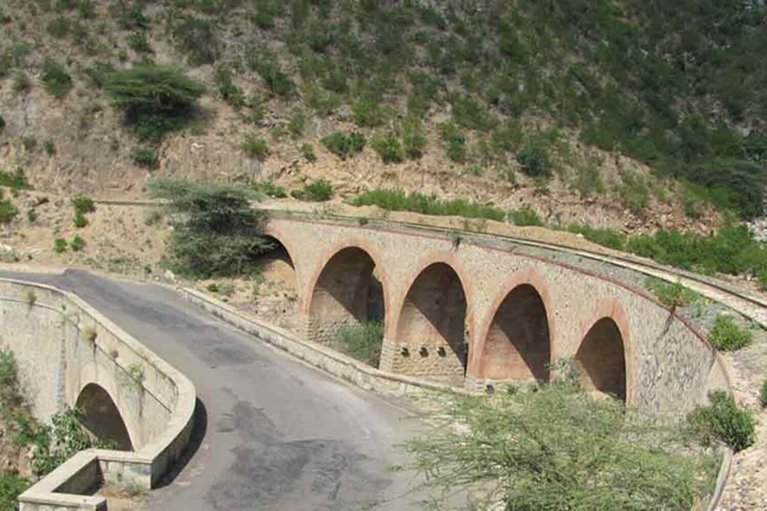 Asmara Massawa road railway