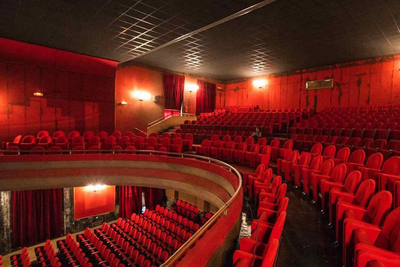 Asmara Opera House from inside