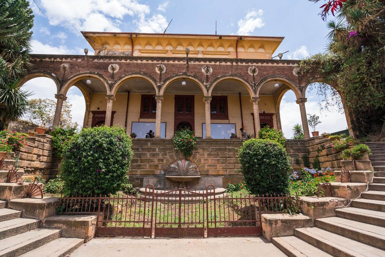 Asmara Theater and Opera House outside