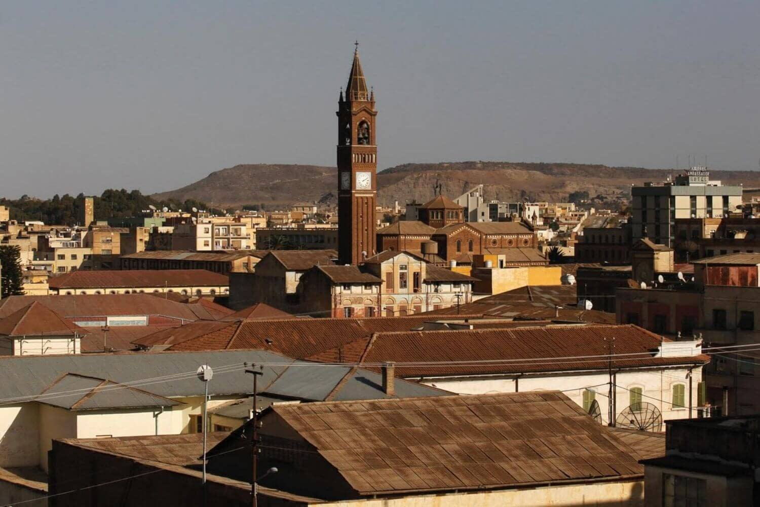 Asmara picture from the top