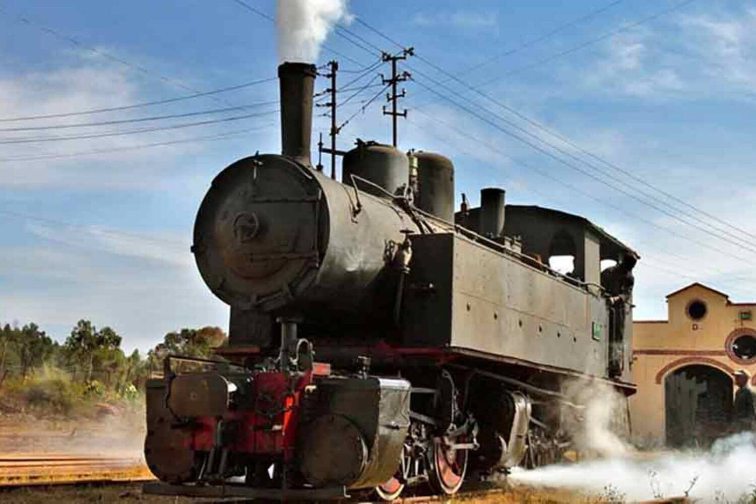 Eritrea Steam locomotive trains