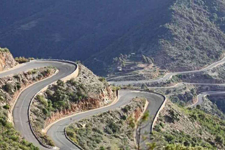 Road between Asmara and Massawa