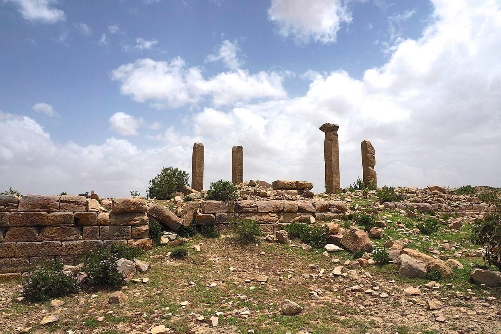 Qohaito site Eritrea - Historical Tour Eritrea