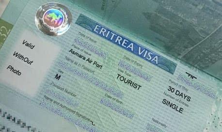 eritrea visa
