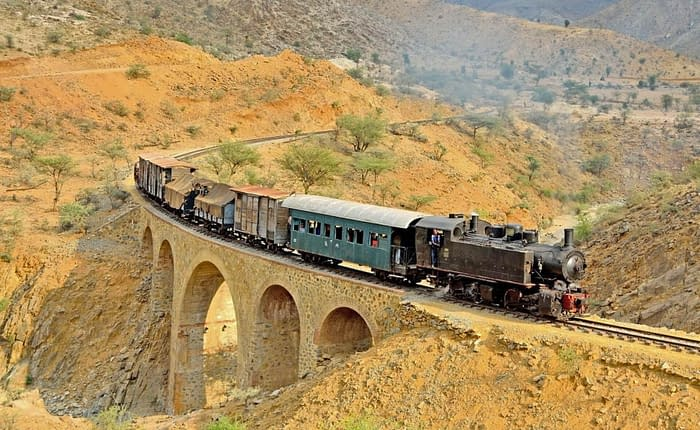 Eritrea Dampflokzüge - Die eritreische Eisenbahn, Entdecken Sie Eritrea, Eritrea 4 Tage Tour, besuchen Sie Eritrea, Erkundung Eritrea