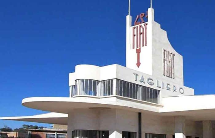 Fiat Tagliero Building in Asmara